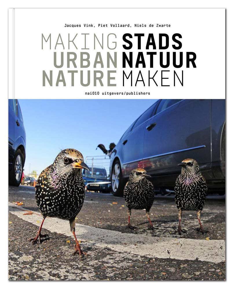 cover book - making urban nature - stads natuur maken
